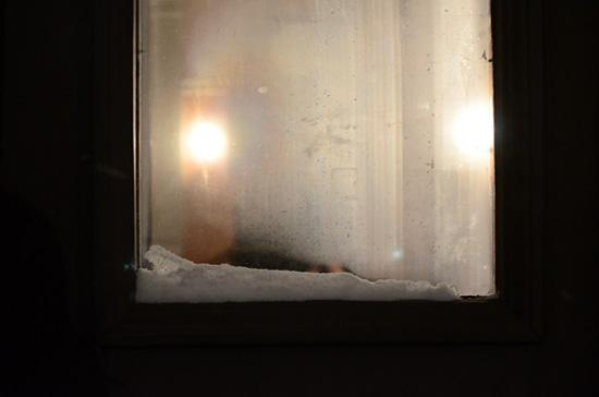 Valoa ikkunassa
