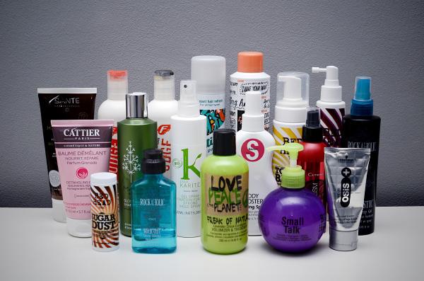 Kosmetiikkahaasteen yhteenveto - hiusjutut