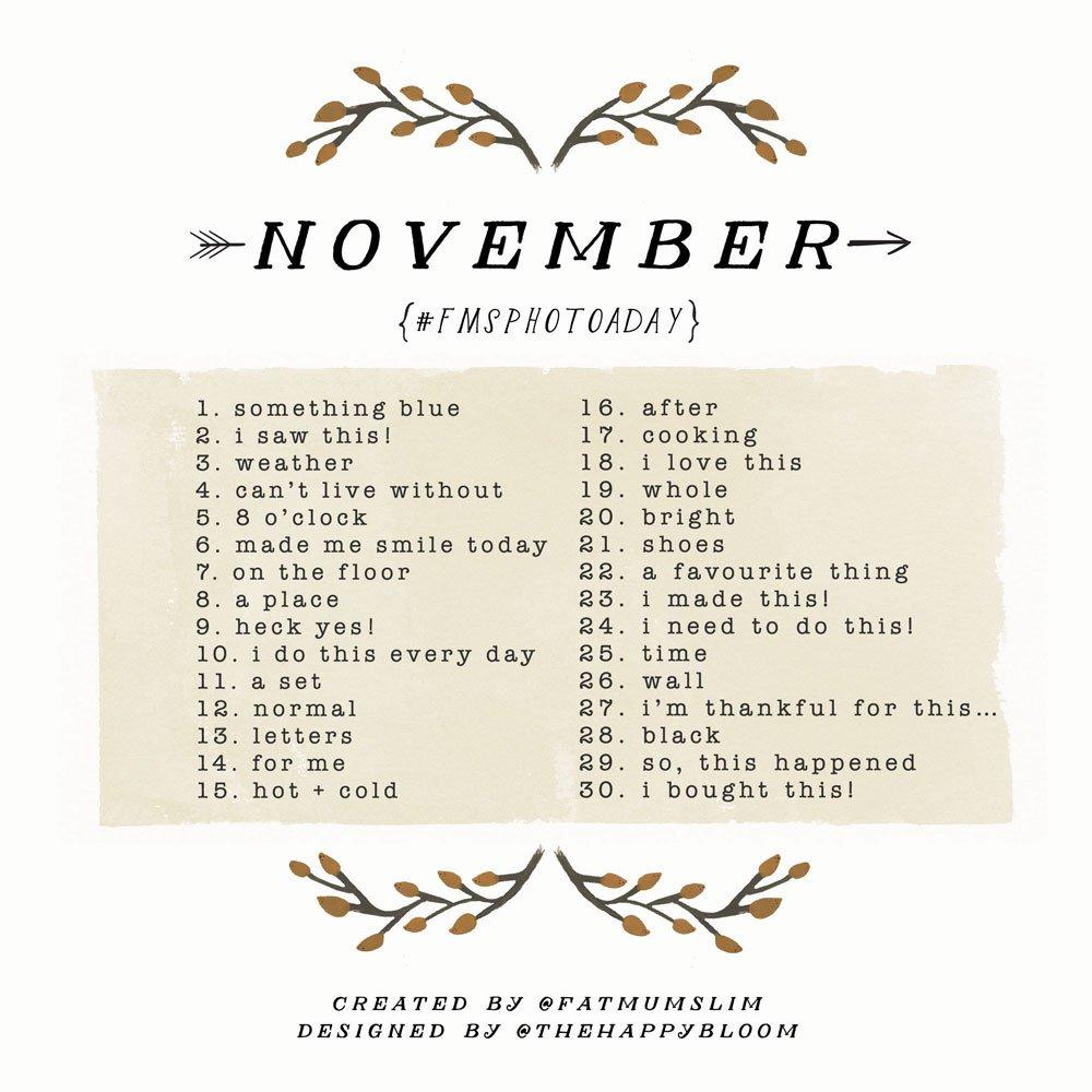 Photo a day November 2014