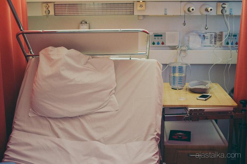Odotusta synnytysvuodeosastolla