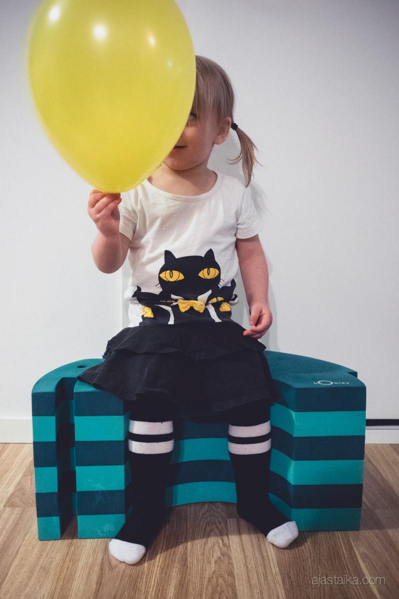 2-vuotias tytär