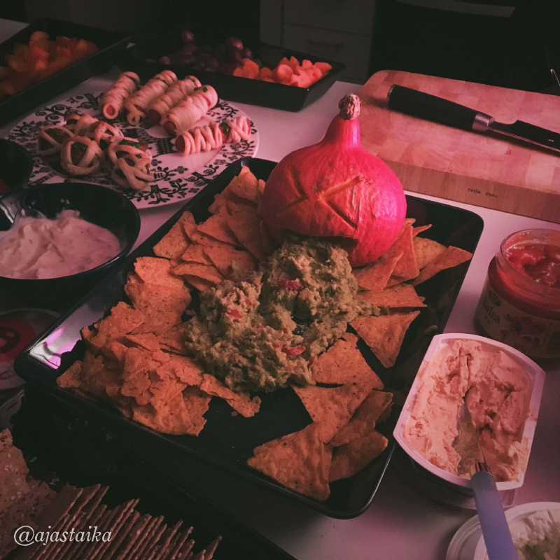 #food #pumpkin #vomit #howeneväät #allsaintsday #halloweendecorations