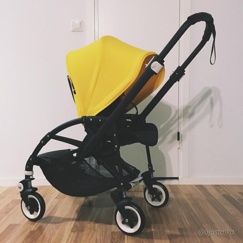 Ampiaisrattaat. #stroller #bugaboo #bugaboobee3 #yellow #babyplushoorn #strollerobsession #lastenvaunuhullut #vaunuhullu #olikinikäväkeltaista