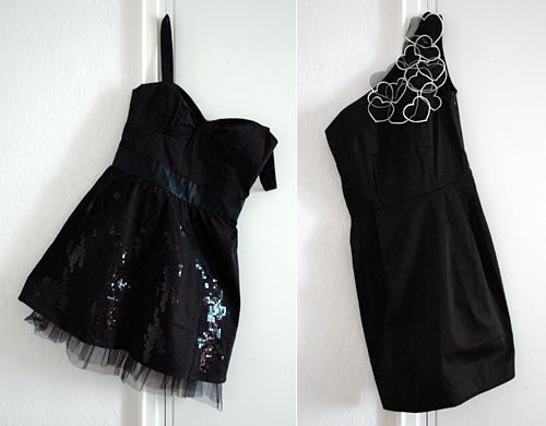 2 x musta mekko