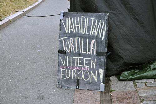 Tortillavaihto