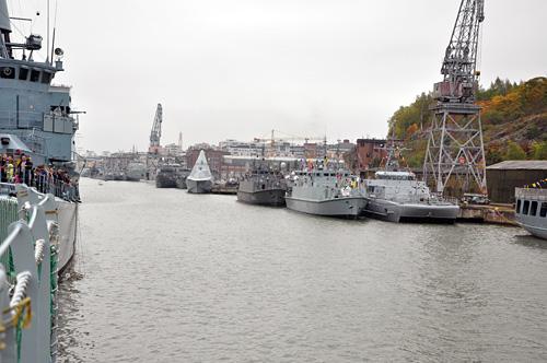 Aurajoki ja sotalaivat I