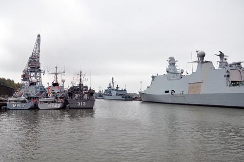 Aurajoki ja sotalaivat III