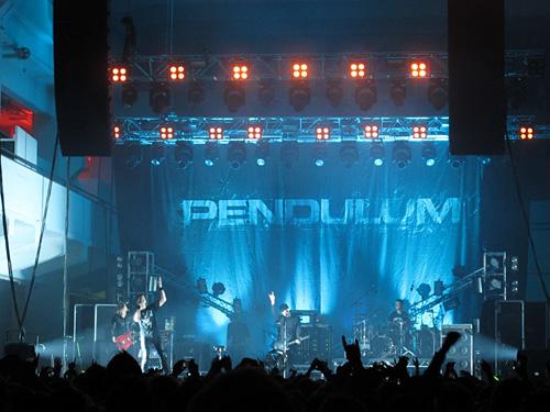 Pendulum @ Kaapelitehdas