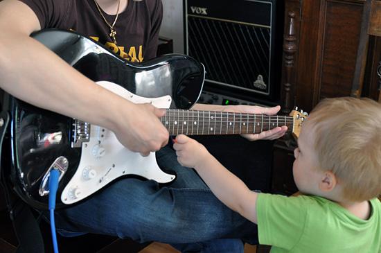 Aloitetteleva kitaristi