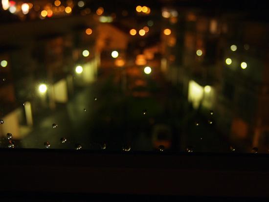 Sateinen ilta