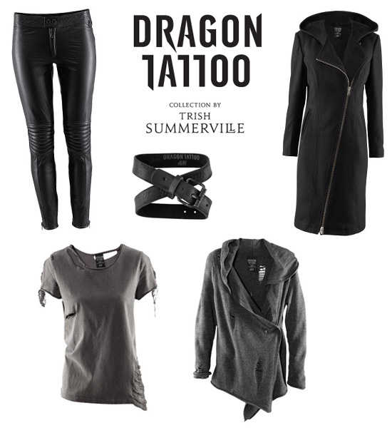 H&M Dragon Tattoo collection