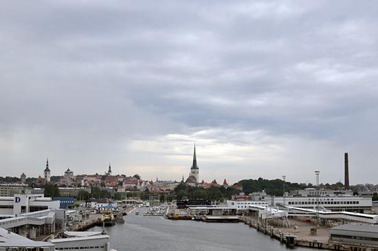 Viimeinen näkymä Tallinnaan