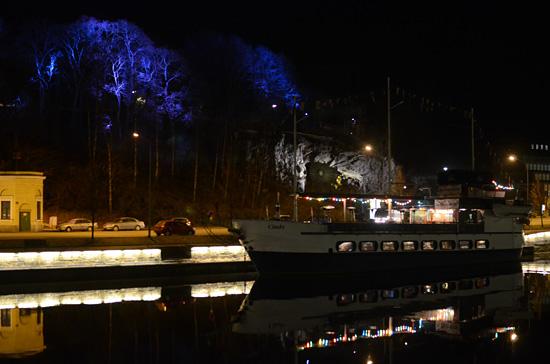 Aurajoki by night