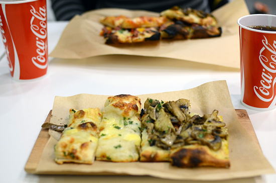 Pizzariumin pitsat
