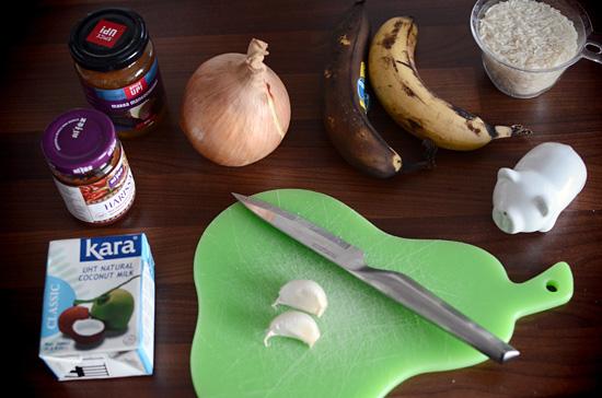 Banaanicurry, osa 1: lähtökohta