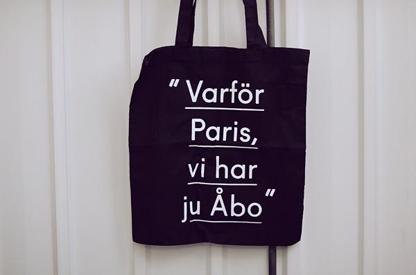 """""""Varför Paris, vi har ju Åbo"""""""