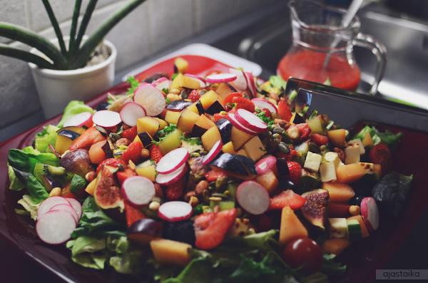Muhkea salaatti