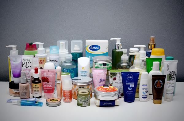Kosmetiikkahaasteen yhteenveto - kasvoille ja vartalolle