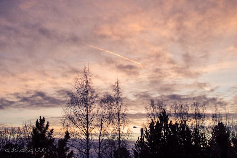 Vuoden viimeinen auringonlasku