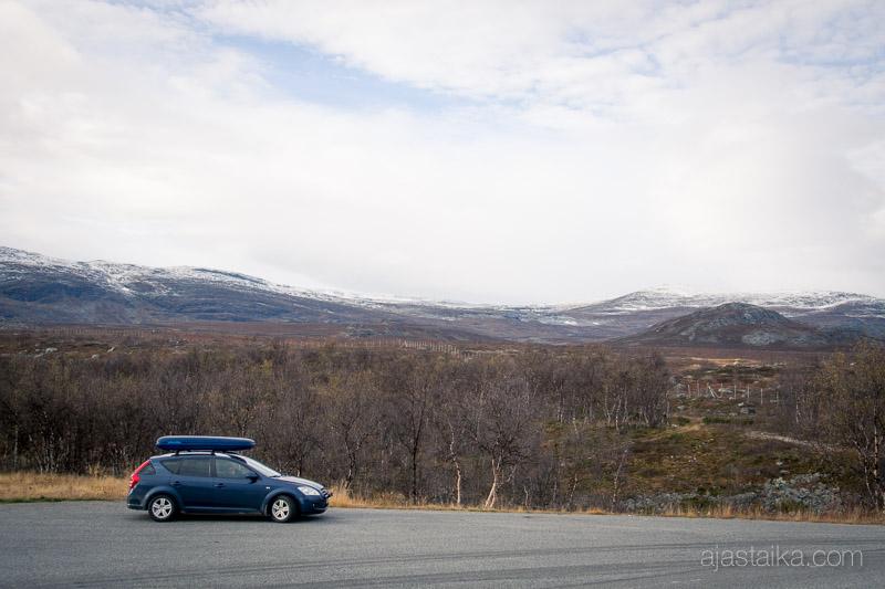 Suomen ja Norjan rajalla