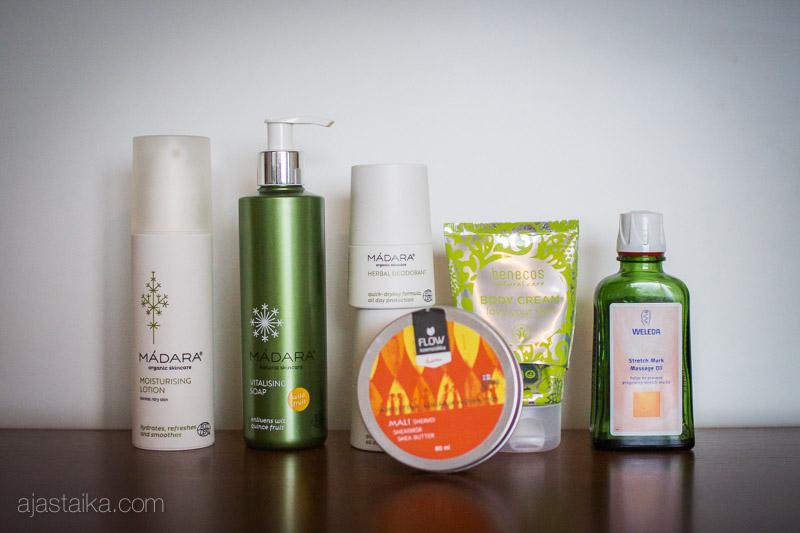 Loput v. 2014 kosmetiikat: vartalotuotteet