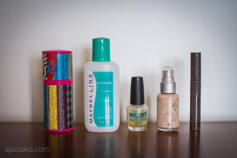 Loput v. 2014 kosmetiikat: meikit ja kynsijutut