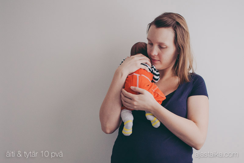 10 päivää synnytyksen jälkeen