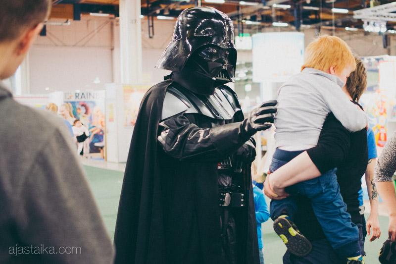Darth Vader oli jännittävä