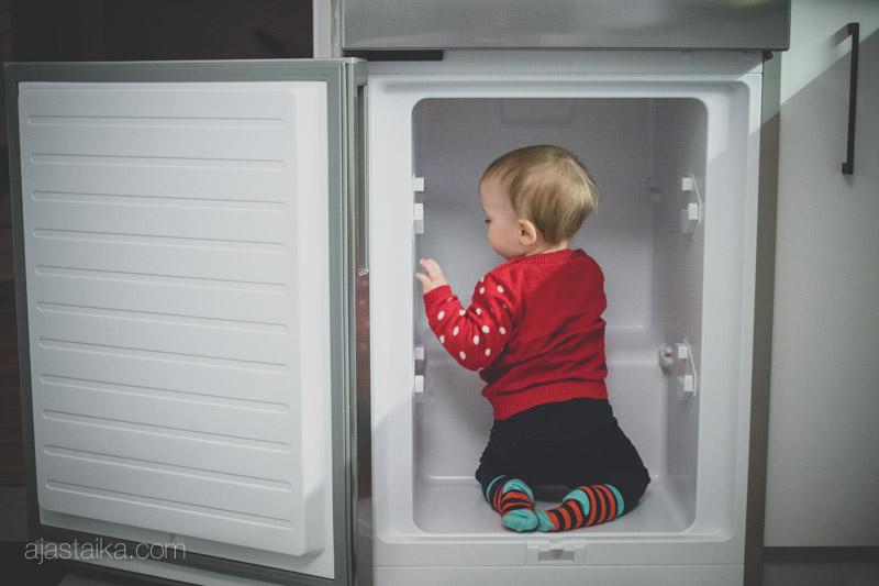 Jääkaapissa