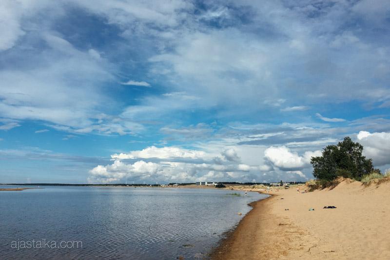 Geokätköilytapahtuma Kalajoen hiekkasärkillä