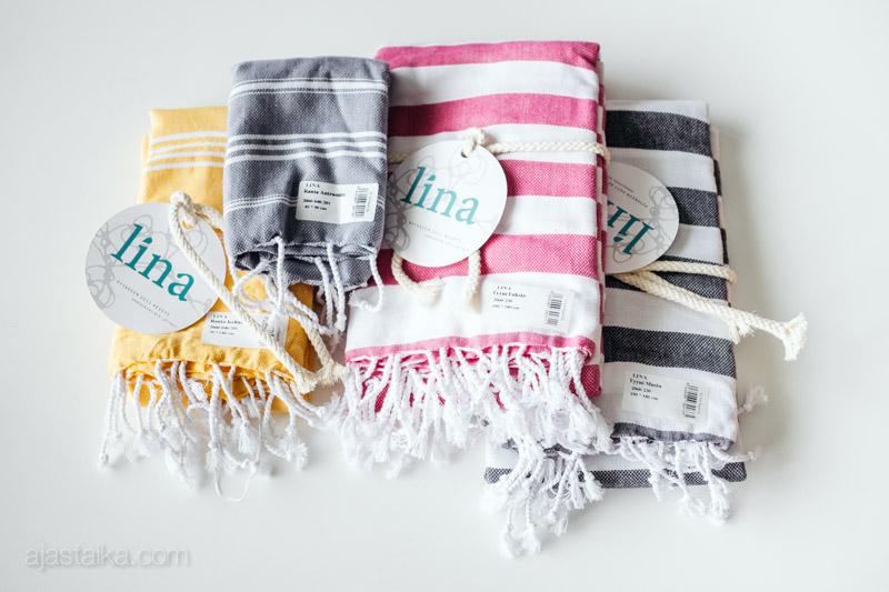 Lina hamam-pyyhkeet
