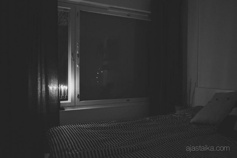 Kynttelikkö iltasella