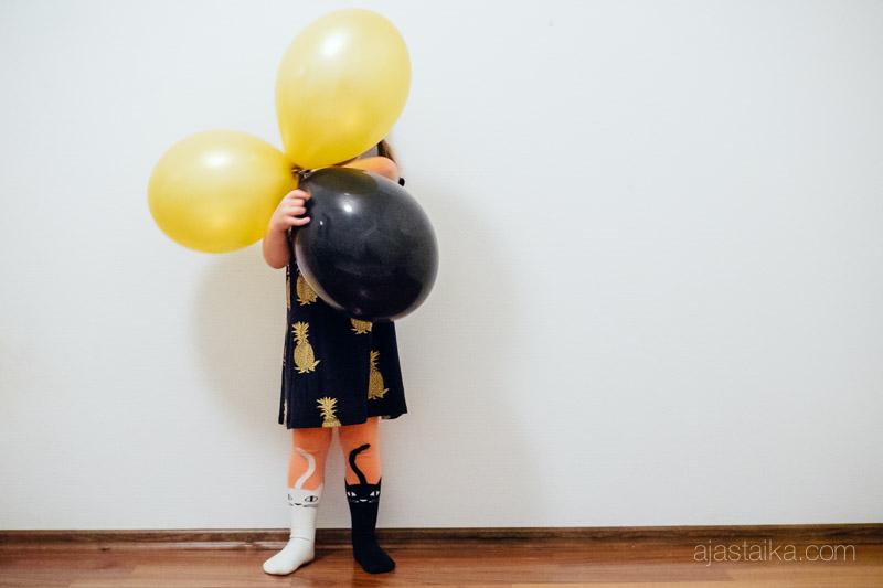 3-vuotias tytär