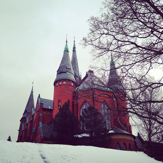 Mikaelin kirkko.