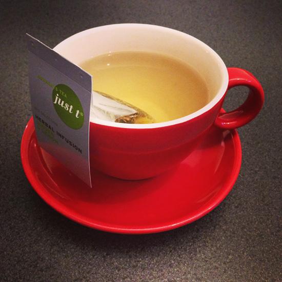 Komee teekuppi! #tea #infusion