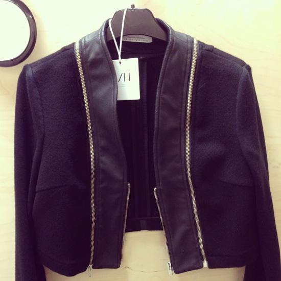 Maailman siistein pikkujakku: villaa ja poronnahkaa ♥ #rh #blazer #wool #leather #dreamingof #mewants
