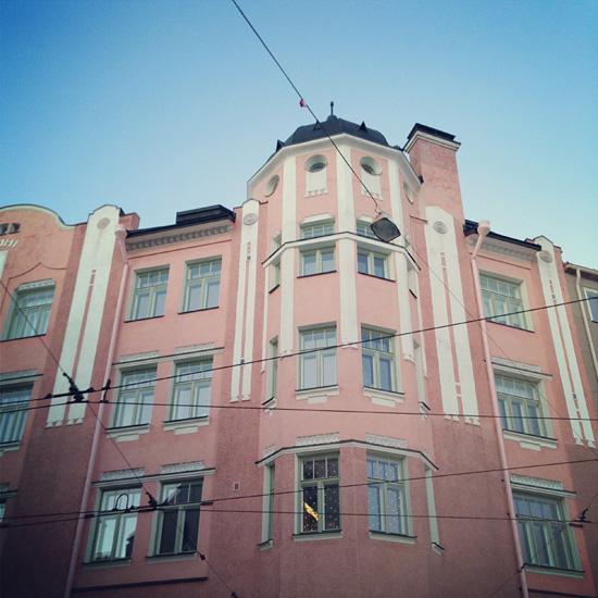 #helsinki #old #house #pink